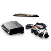 Комплект парковочных датчиков (парктроники) STEEL MATE PTS400M8 (BLACK/SILVER)