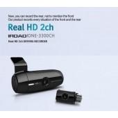 Корейский видеорегистратор JAEWONCNC IROAD IONE-3300CH 2CH REAL HD(1280X720p)